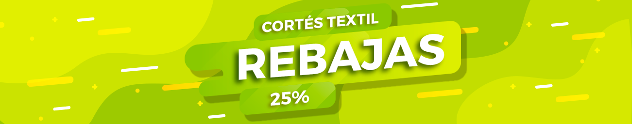 rebajas cortes textil